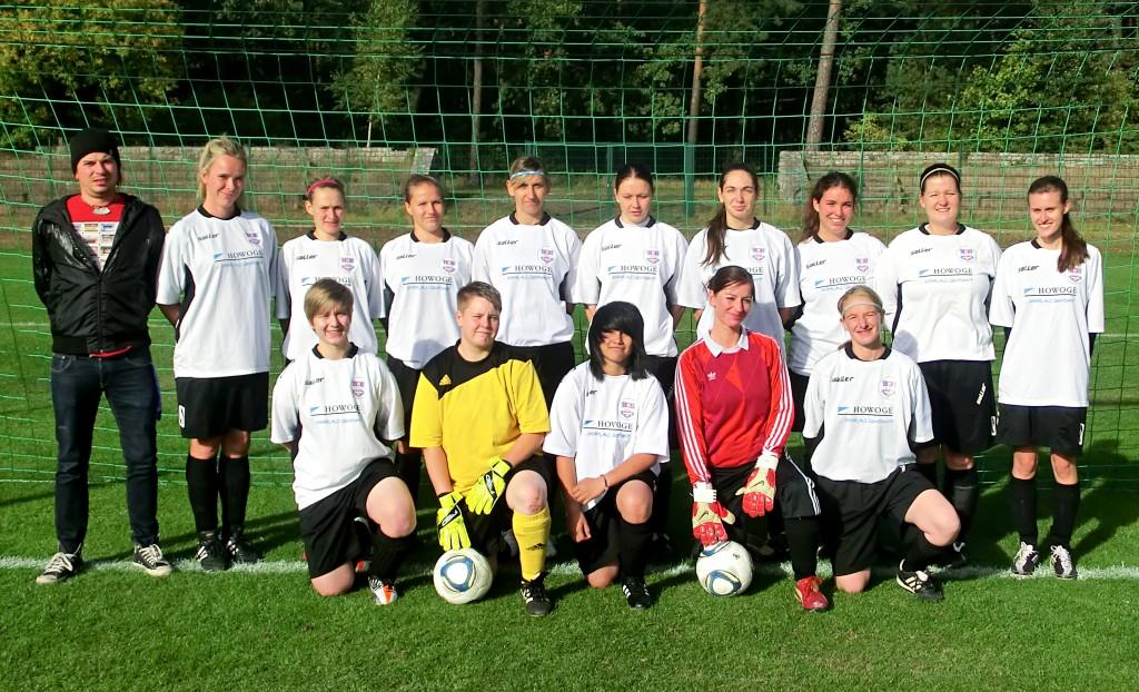 1.Damen Saison 2012/2013