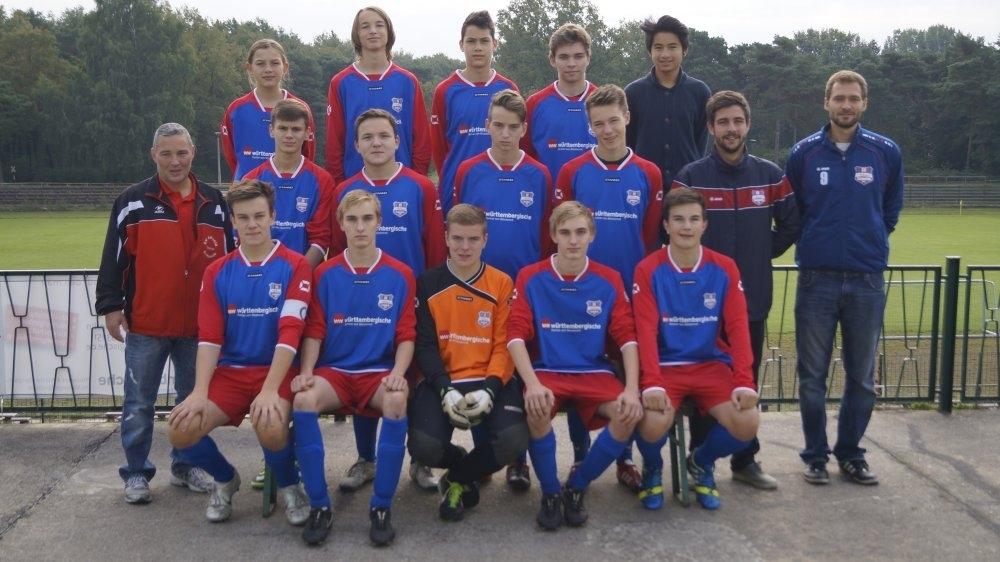 1.B-Junioren Saison 2013/2014