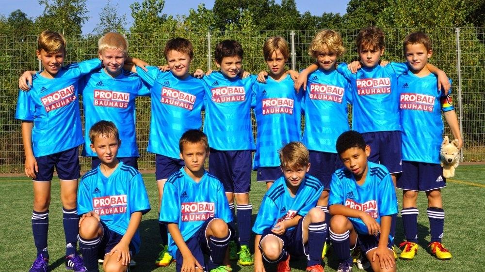 1.E-Junioren Saison 2014/2015