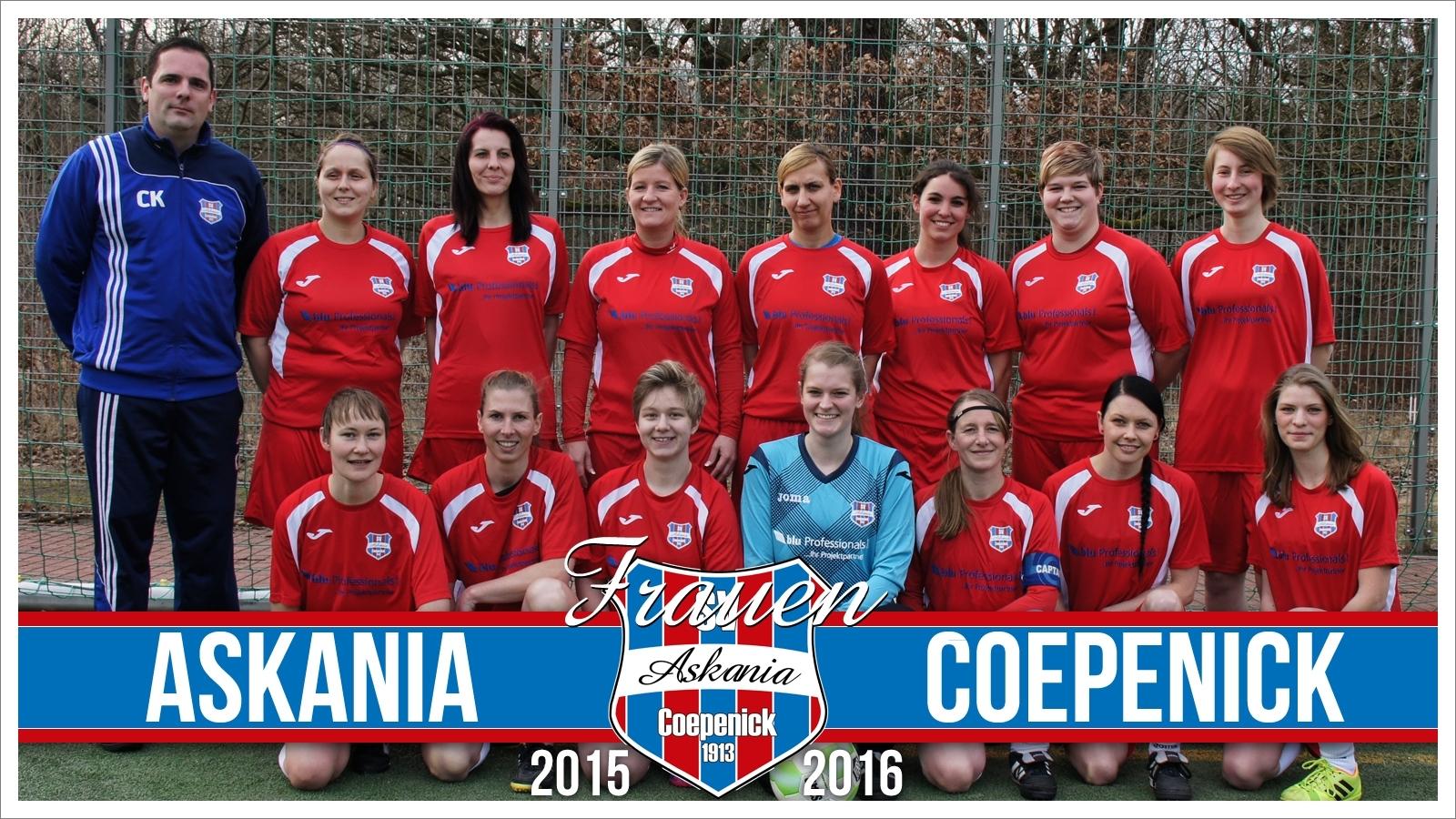 1.Damen Saison 2014/2015