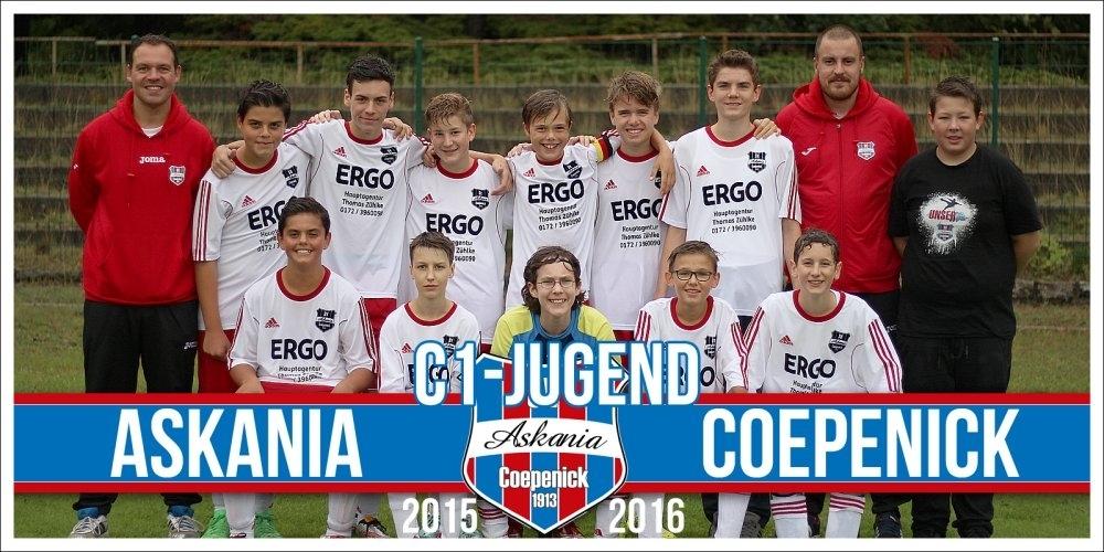 1.C-Junioren Saison 2015/2016