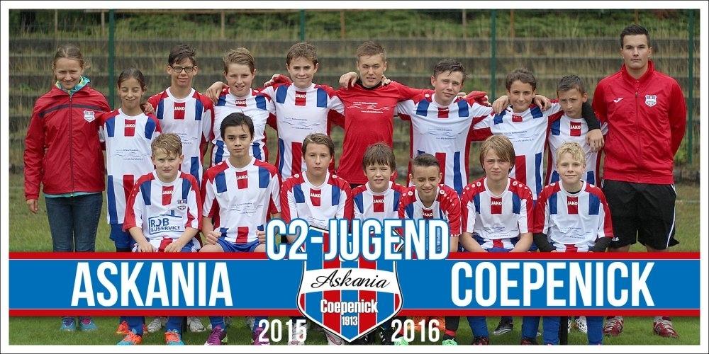 2.C-Junioren Saison 2015/2016