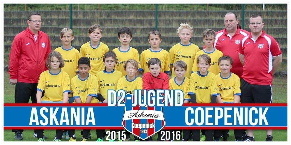 2.D-Junioren Saison 2015/2016