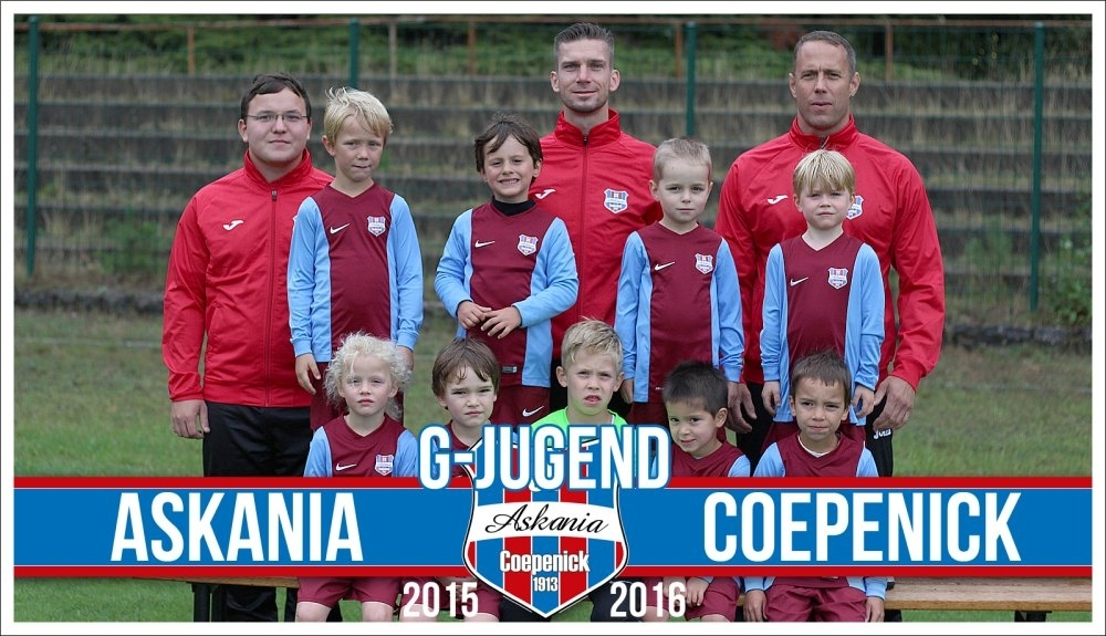 1.G-Junioren Saison 2015/2016