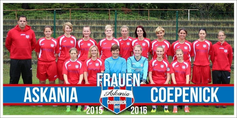 1.Damen Saison 2015/2016