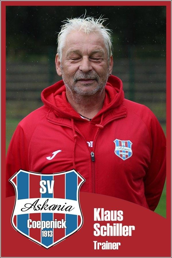 Klaus Schiller (Trainer 1.D-Junioren 2015/2016)
