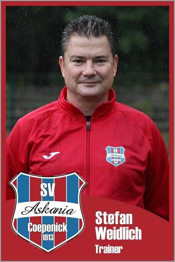 Stefan Weidlich (Trainer 1.D-Junioren 2015/2016)