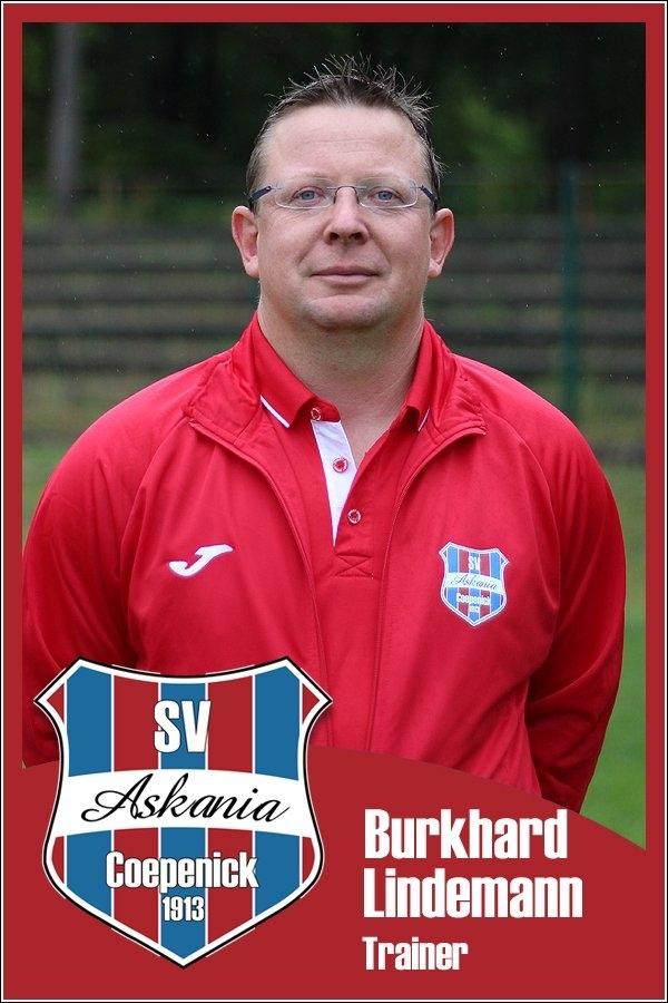 Burkhard Lindemann (Trainer 2.D-Junioren 2015/2016)