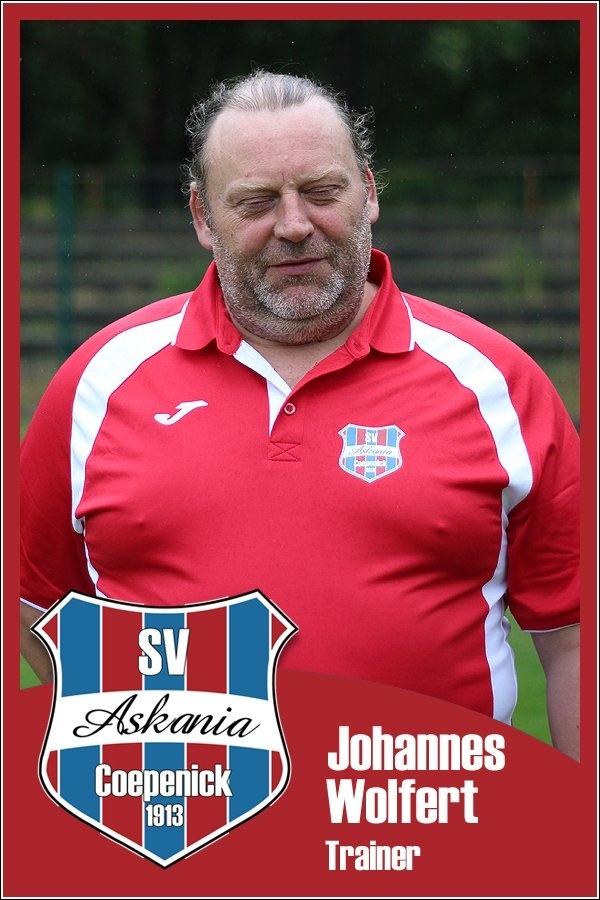 Johannes Wolfert (Trainer 2.D-Junioren 2015/2016)