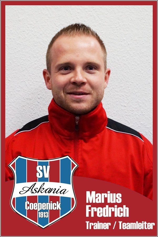 Marius Fredrich (Trainer 1.E-Junioren 2015/2016)