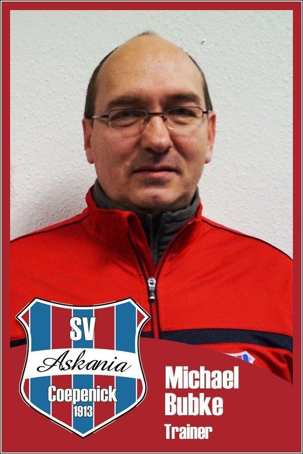 Michael Bubke (Trainer 2.E-Junioren 2015/2016)