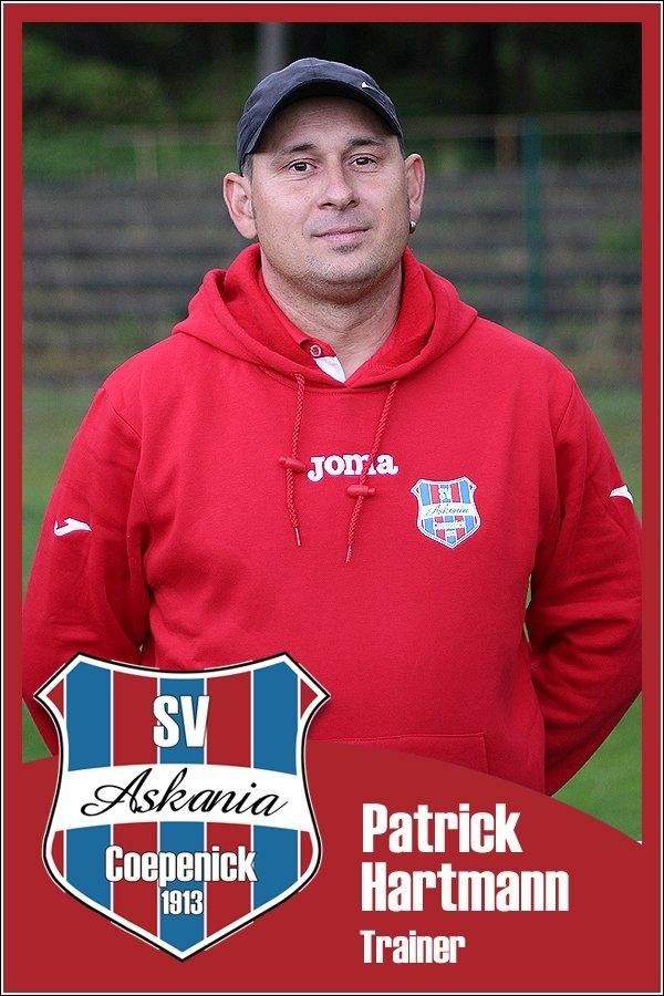 Patrick Hartmann (Trainer 2.E-Junioren 2015/2016)