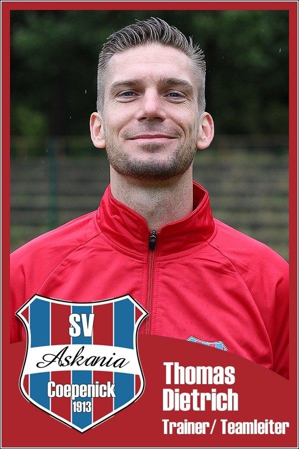 Thomas Dietrich (Trainer und Teamleiter 1.G-Junioren 2015/2016)