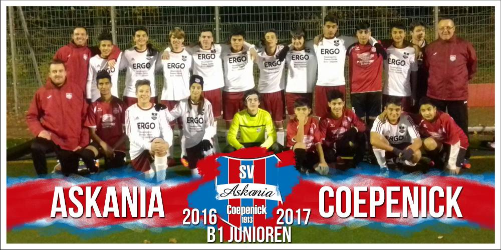1.B-Junioren Saison 2016/2017