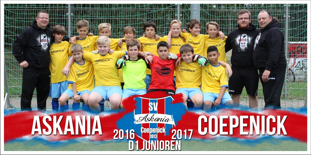 1.D-Junioren Saison 2016/2017