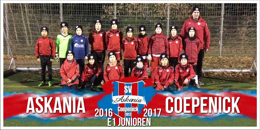 1.E-Junioren Saison 2016/2017