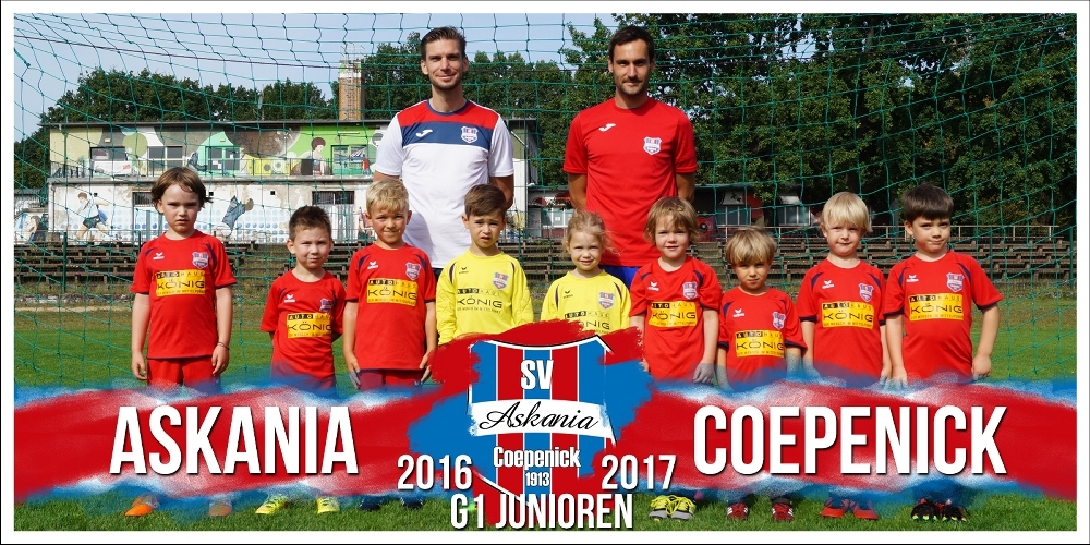 1.G-Junioren Saison 2016/2017