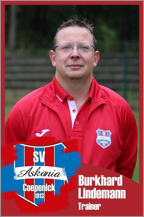 Burkhard Lindemann (Trainer 1.D-Junioren Saison 2016/2017)