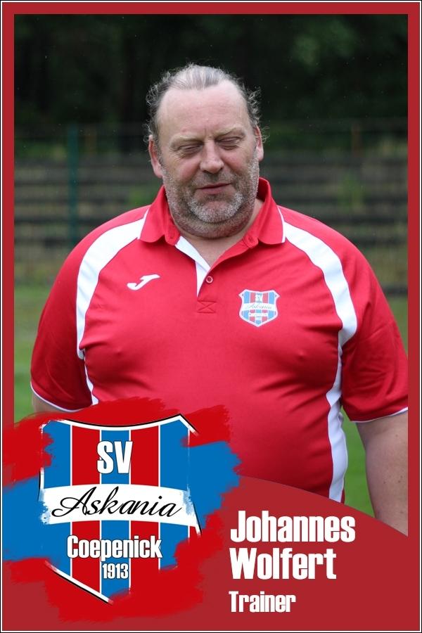 Johannes Wolfert (Trainer 1.D-Junioren Saison 2016/2017)