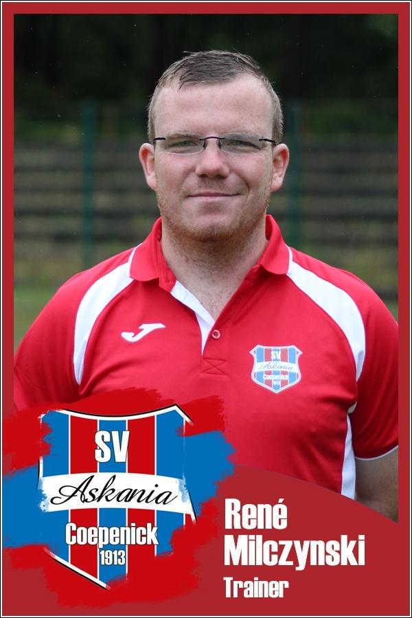René Milczynski (Trainer 1.D-Junioren Saison 2016/2017)