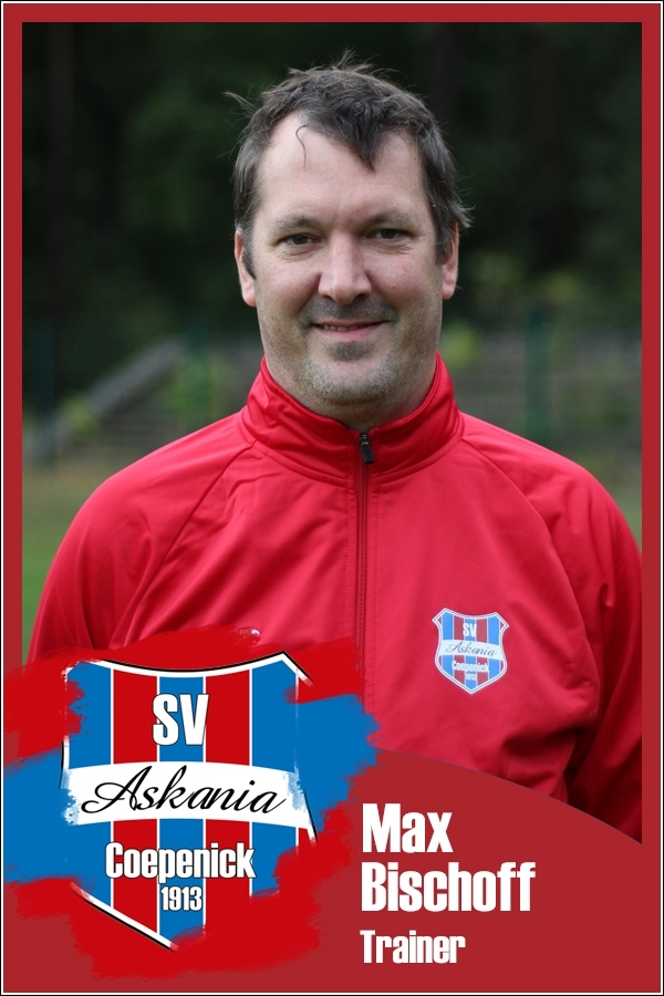 Max Bischoff (Trainer 1.E-Junioren 2017/2018)