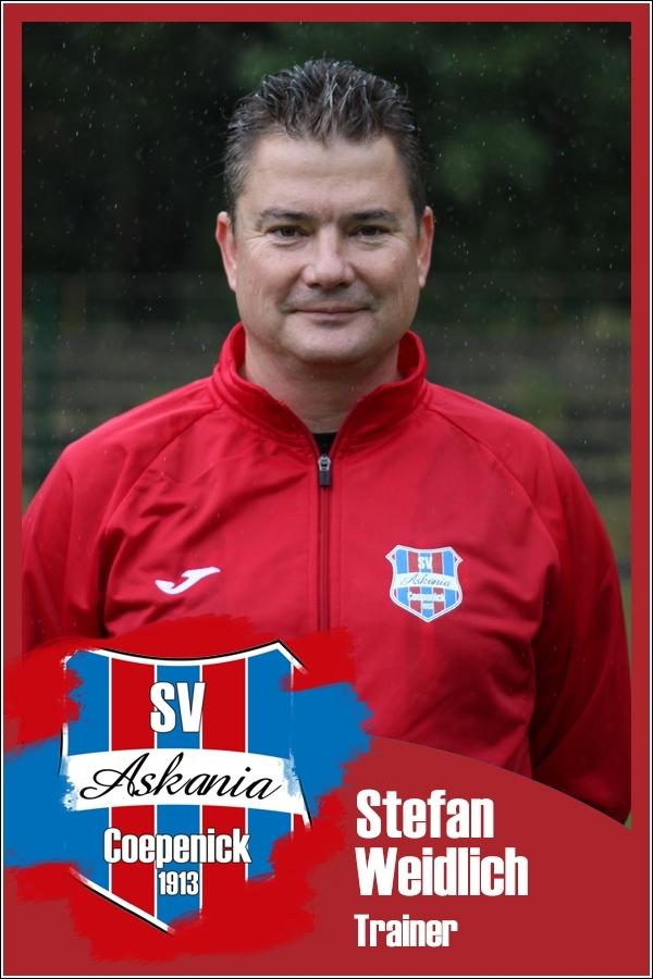Stefan Weidlich (Trainer 1.E-Junioren 2017/2018)