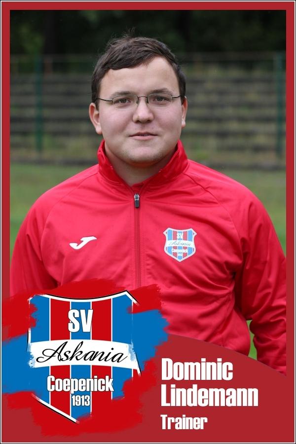 Dominic Lindemann (Trainer 1.F-Junioren 2016/2017)
