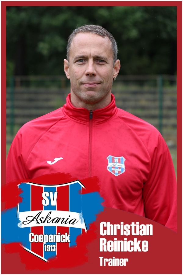 Christian Reinicke (Trainer 2.F-Junioren 2016/2017)
