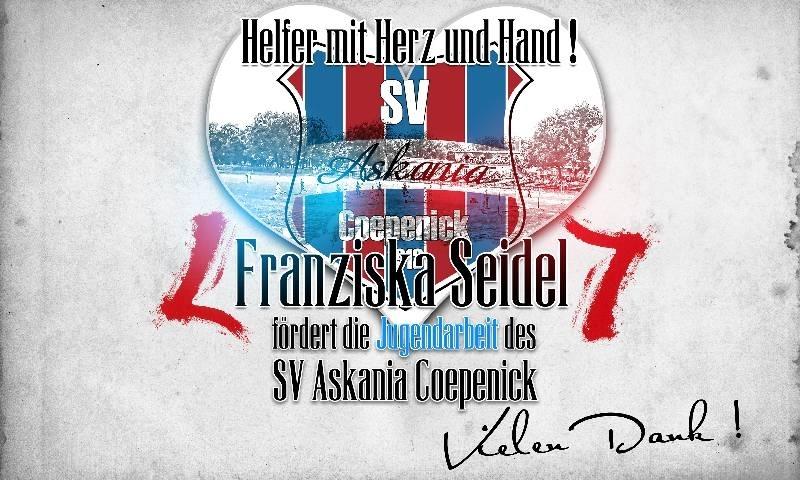 Helfer mit Herz und Hand! - Franziska Seidel - 1.G-Jugend 2016