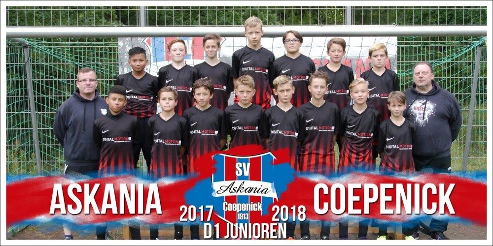 1.D-Junioren Saison 2017/2018