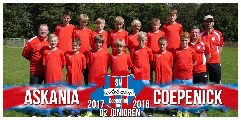 2.D-Junioren Saison 2017/2018