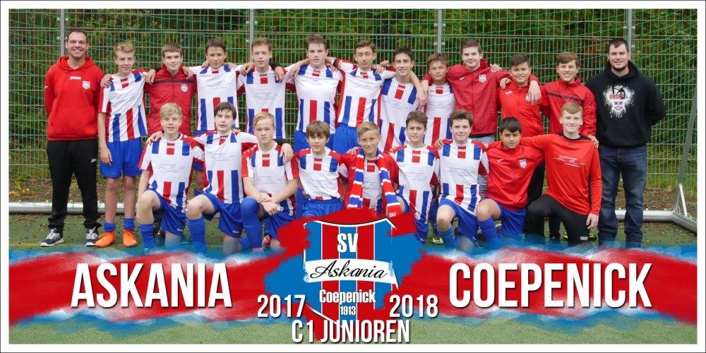 1.C-Junioren Saison 2017/2018