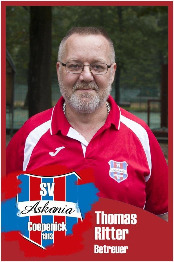 Thomas Ritter (Betreuer 1.C-Junioren 2017/2018)
