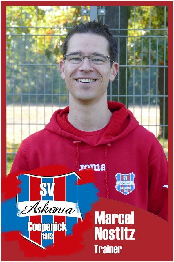 Marcel Nostitz (Trainer 2.E-Junioren 2017/2018)