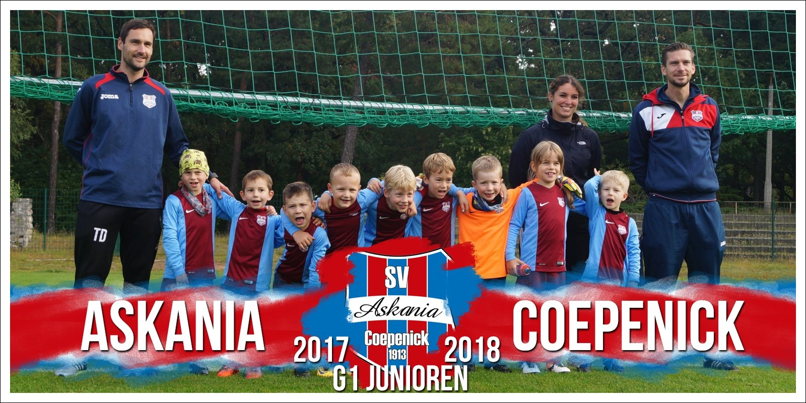 1.G-Junioren Saison 2017/2018