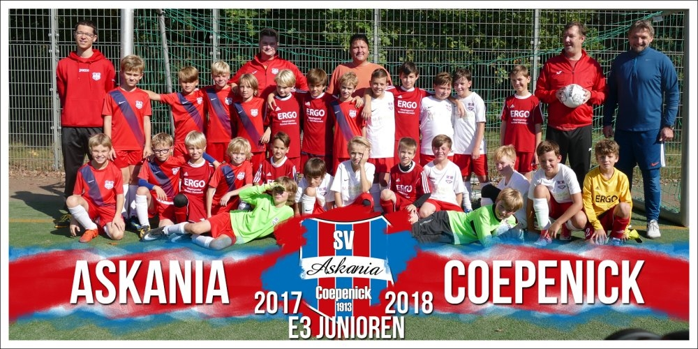 3.E-Junioren Saison 2017/2018