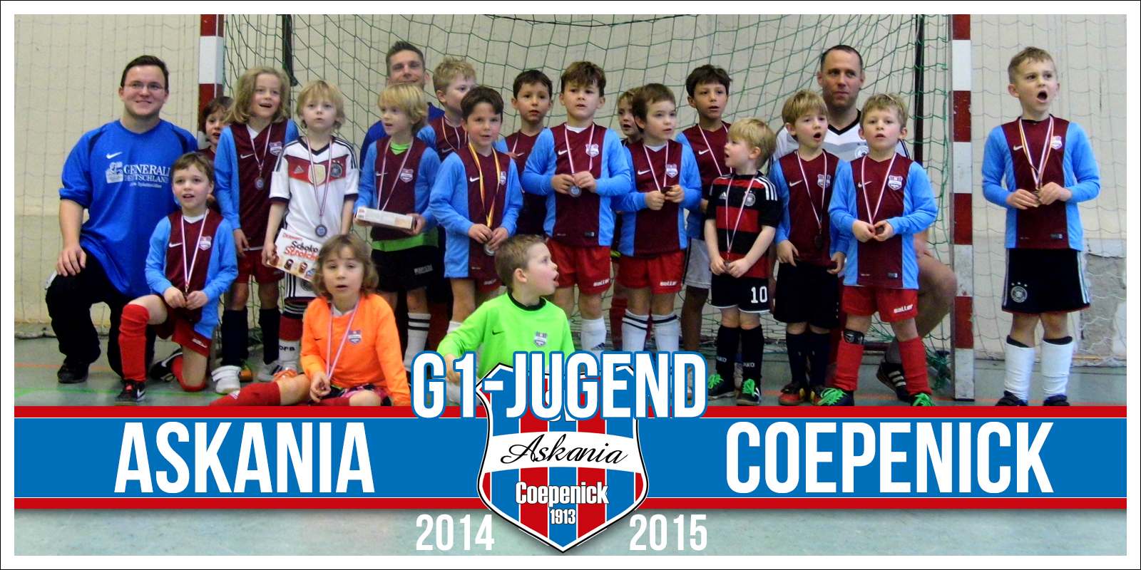 1.G-Junioren Saison 2014/2015