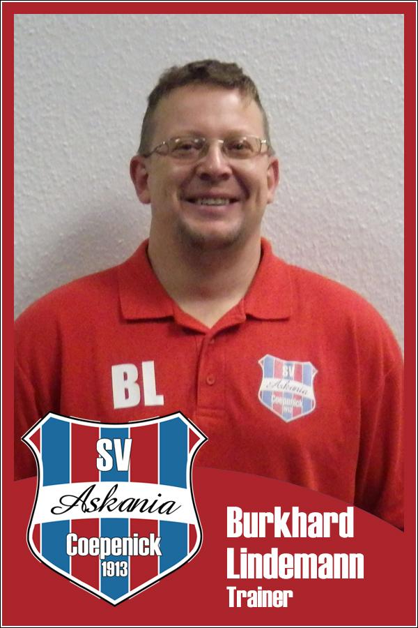 Burkhard Lindemann (Trainer 1.E-Junioren 2012/2013)
