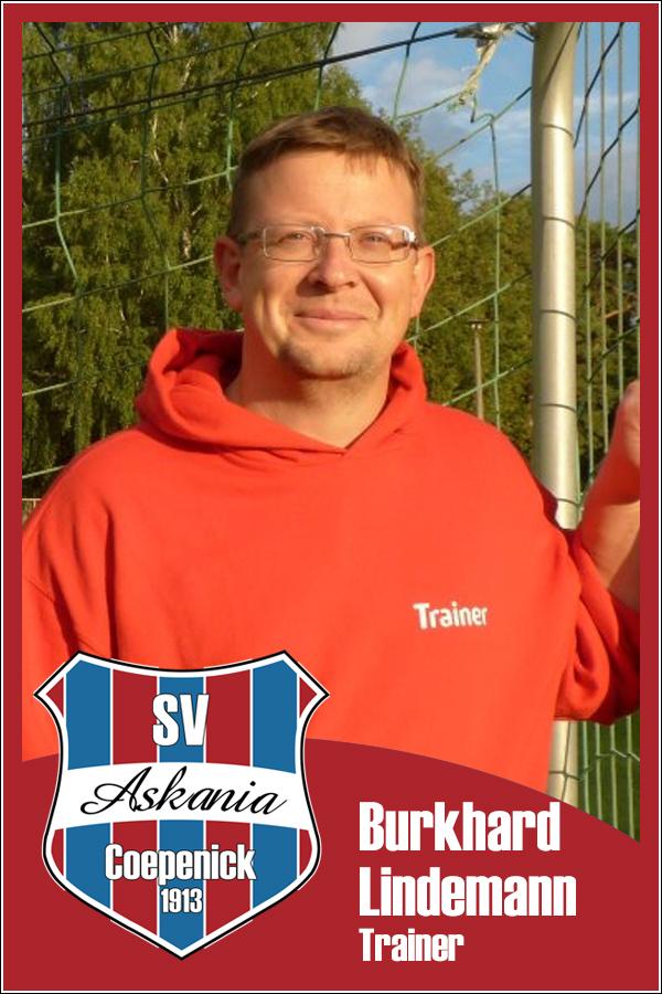 Burkhard Lindemann (Trainer 2.D-Junioren 2013/2014)