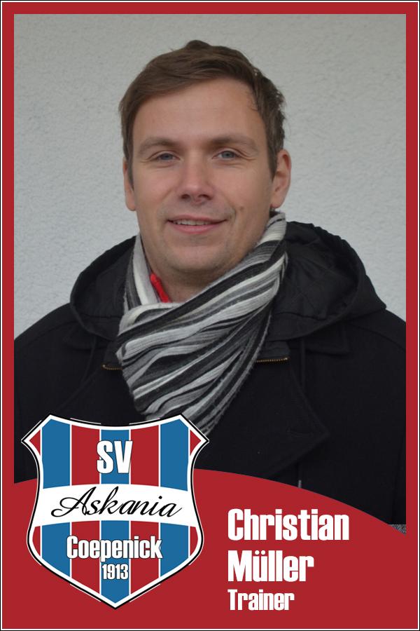 Christian Müller (Trainer 2.Männer 2013/2014)