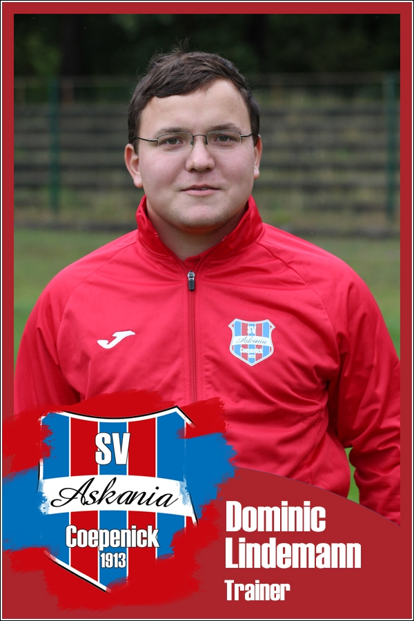 Dominic Lindemann (Trainer 1.F-Junioren 2016/2017)