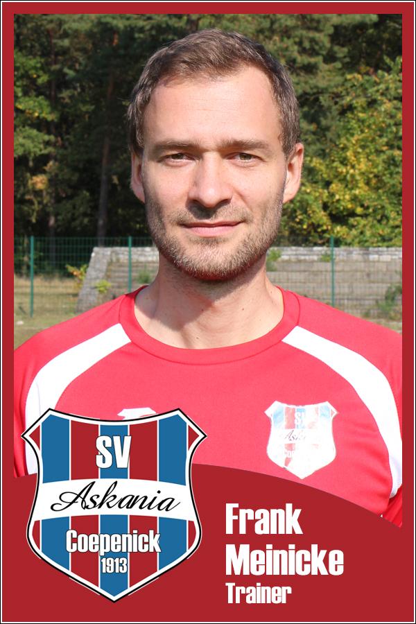 Frank Meinicke (Trainer 1.B-Junioren 2013/2014)