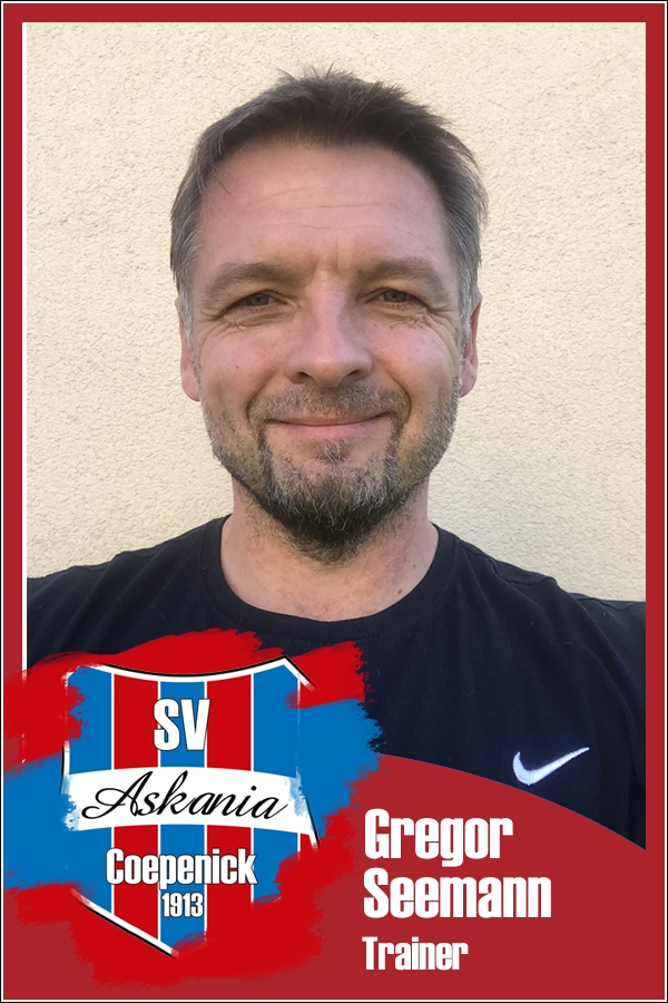 Gregor Seemann (Trainer 1.F-Junioren 2016/2017)