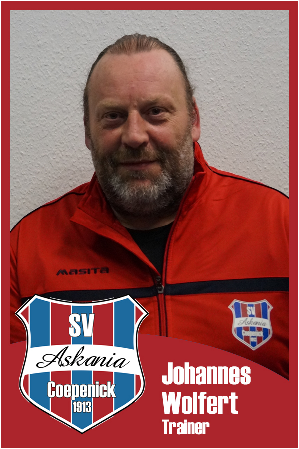 Johannes Wolfert (Co-Trainer 2.E-Junioren 2013/2014)