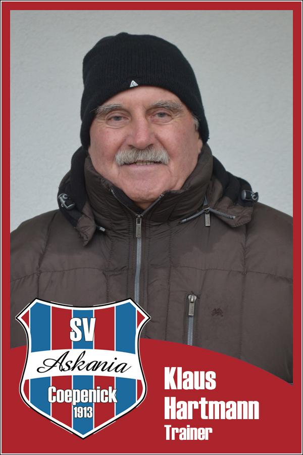 Klaus Hartmann (Betreuer 2.Männer 2013/2014)