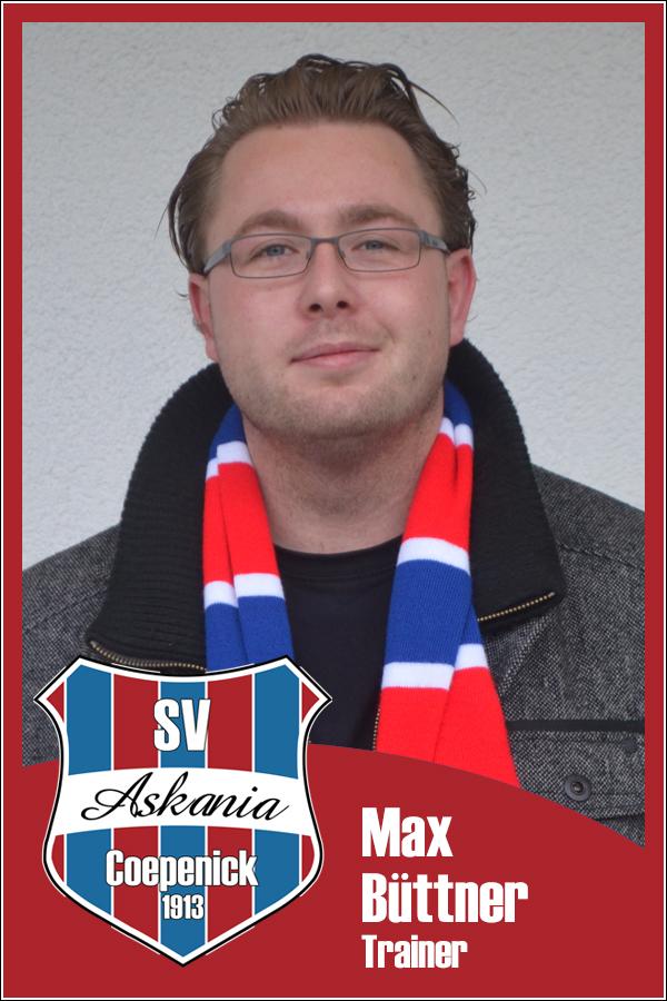 Max Büttner (Interimstrainer 1.Männer 2012/2013)