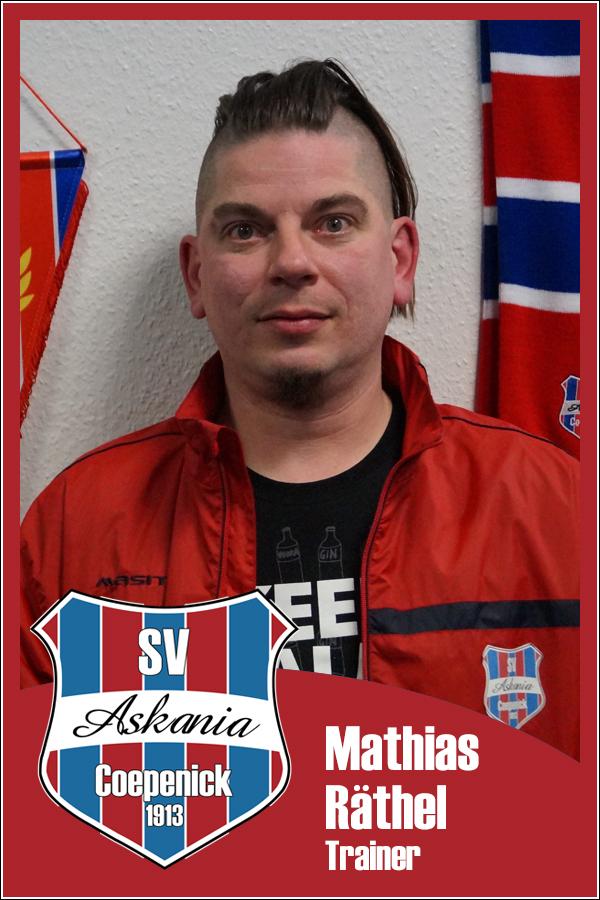 Mathias Räthel (Trainer 1.Damen 2013/2014)