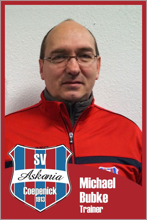 Michael Bubke (Übungsleiter 2.F-Junioren 2013/2014)