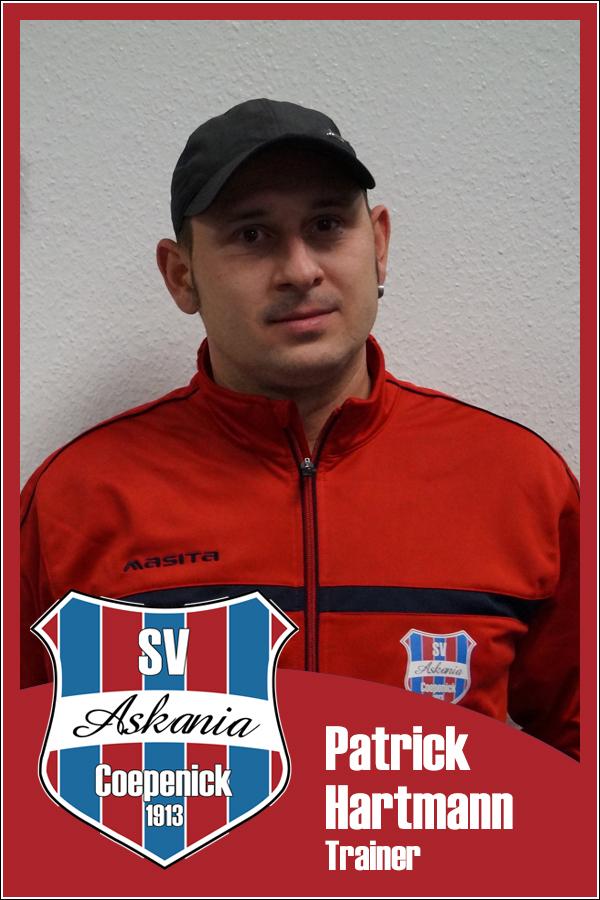 Patrick Hartmann (Übungsleiter 2.F-Junioren 2013/2014)
