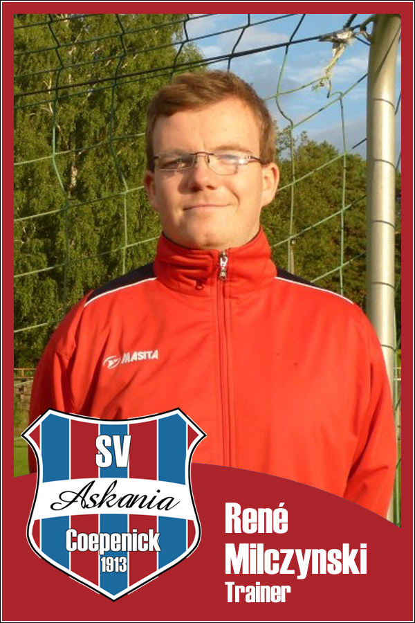 René Milczynski (Trainer 2.D-Junioren 2013/2014)